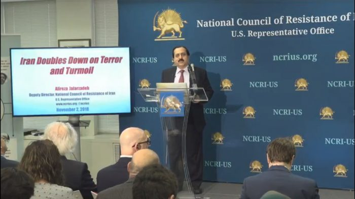 """NCRI-US introduction of the book """"Iran double downs on terror and turmoil"""""""