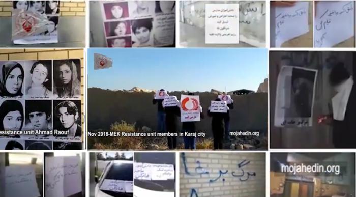MEK Resistance Units activities in 1st week of November