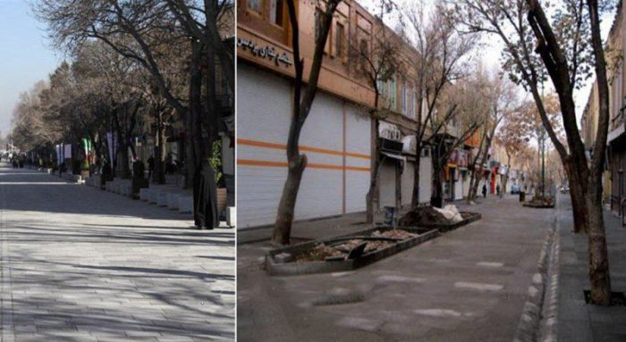 2nd day of strike by merchants in Iran