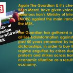 Terribly biased article on the Guardian against the MEK