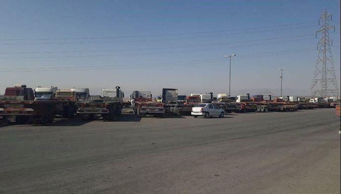 Truck Drivers on Strike again.