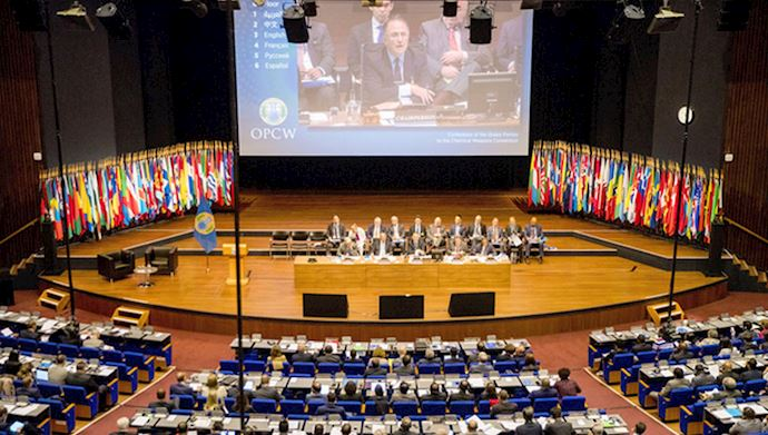 OPCW session in the Hague