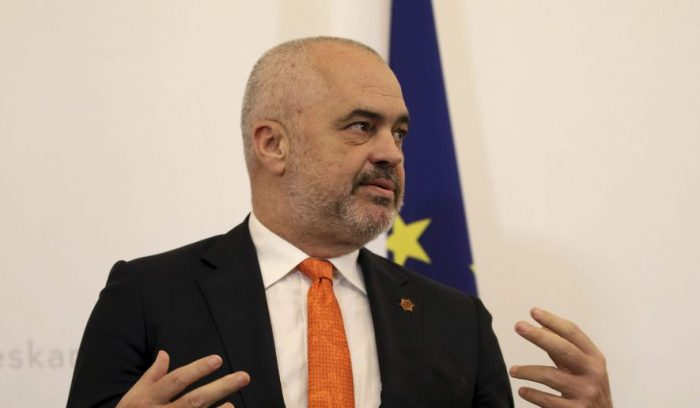 Albanian Prime Minister, Edi Rama