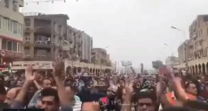 Ahvaz Steelworkers protest - Day 24.