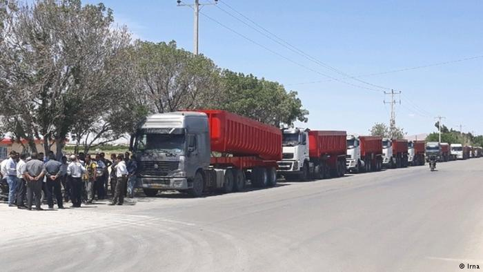 Truck drivers enter 5th round of strike