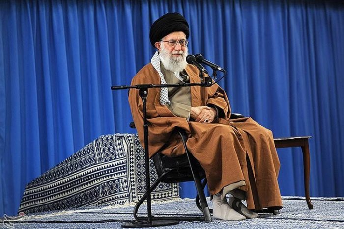 Khamenei's speech among regime's followers