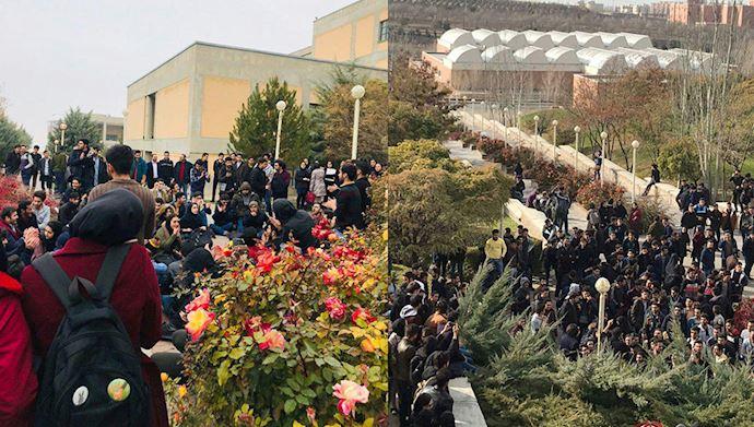 Iran protests across Iran