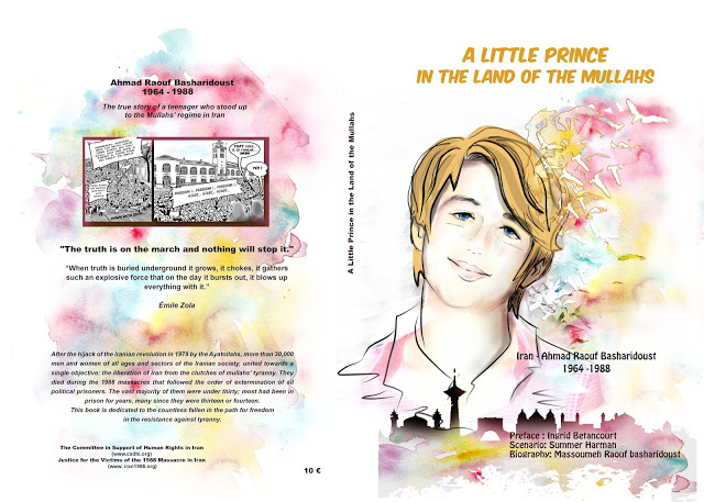 "Book cover for ""A Little Prince in the Land of the Mullahs"""