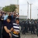 Ahvaz Steel workers protest
