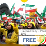 Free Iran Rally in Paris-February 2019