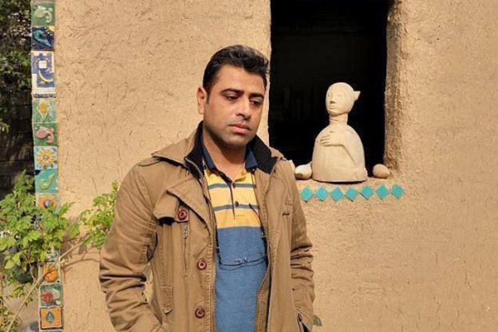 Esmail Bakhashi, the worker who was arrested and tortured for protesting against the regime