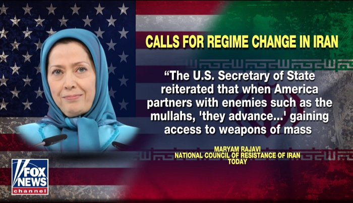 Maryam Rajavi's quote on Fox News