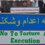 No to torture Banner
