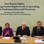 BCFIF conference in support of Iran Freedom