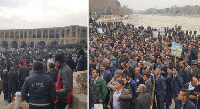 Farmer's protest continues in Isfahan