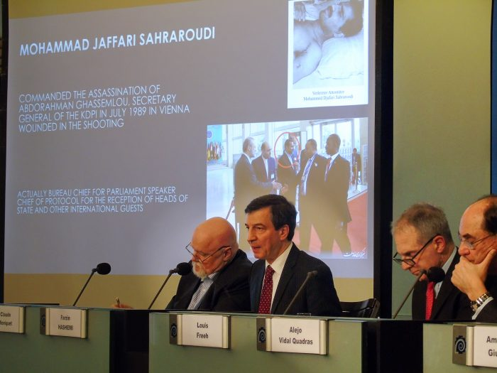 International conference held in Brussels to discuss Iranian regime's terrorist activities in Europe