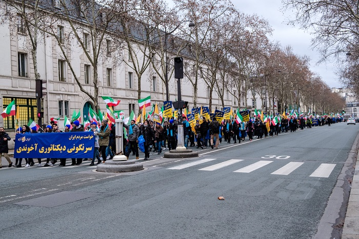 MEK Rally in Paris=Feb8, 2019