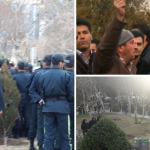 Farmers and teachers protest in Isfahan