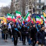 MEK supporters rally in Paris