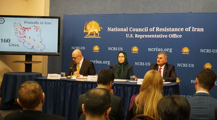 Press conference at NCRI-US office
