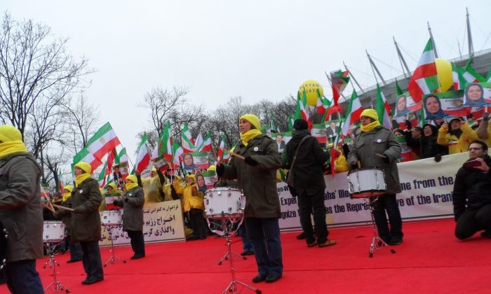 MEK rally in Warsaw