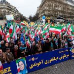 MEK supporters Rally in Paris