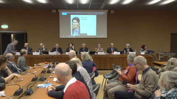 Speakers at Geneva conference on the situation of human rights in Iran