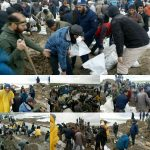Iranian people show unity in fighting the devastating flood