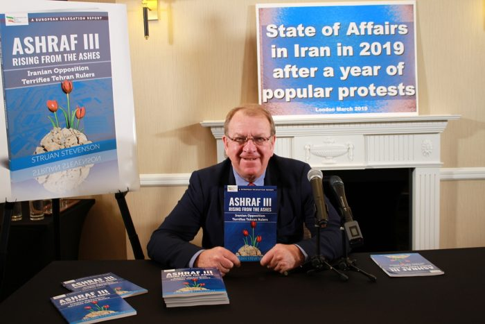 Struan Stevenson-News Conference in London