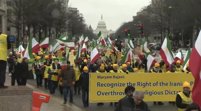 OIAC Free Iran March in Washington D.C.