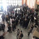Khaje Nasiredeen university students' protest