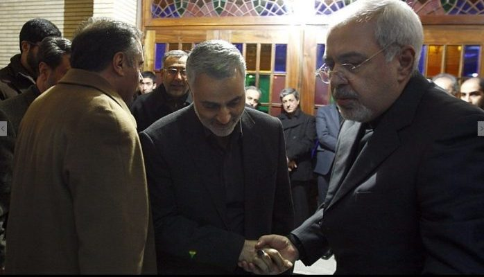 Hardliner's full backing of Javad Zarif, portrayed in West as reformist by Iran Lobby