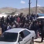 IRGC commander faces protests