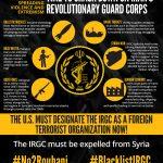 Black list the IRGC