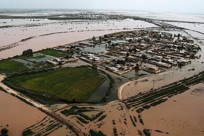 Iranian regime brings in repressive mercenaries to crackdown on flood victims.