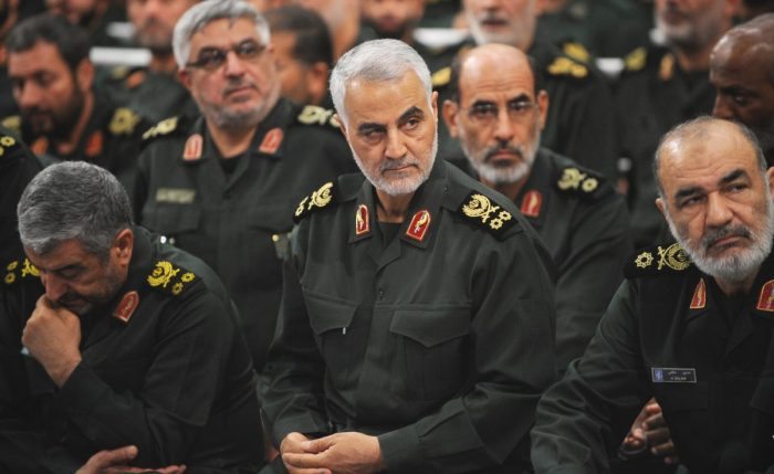 Chief commanders of the Islamic Revolutionary Guards Corps (IRGC)