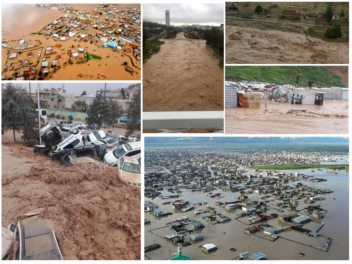 Iranian regimes lack of capability to manage the flash flood