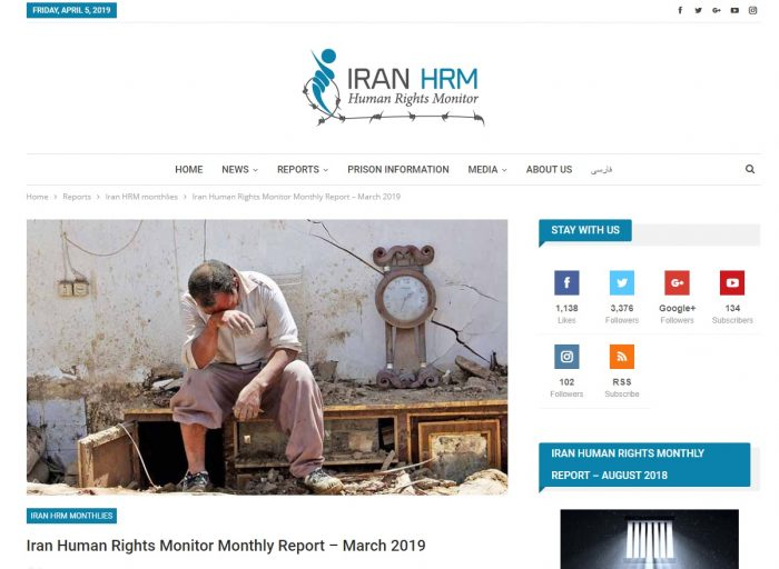 IranHRM March report