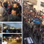 Protests in flood hit aread