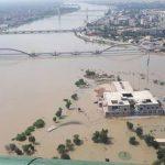 Ahvaz under flood