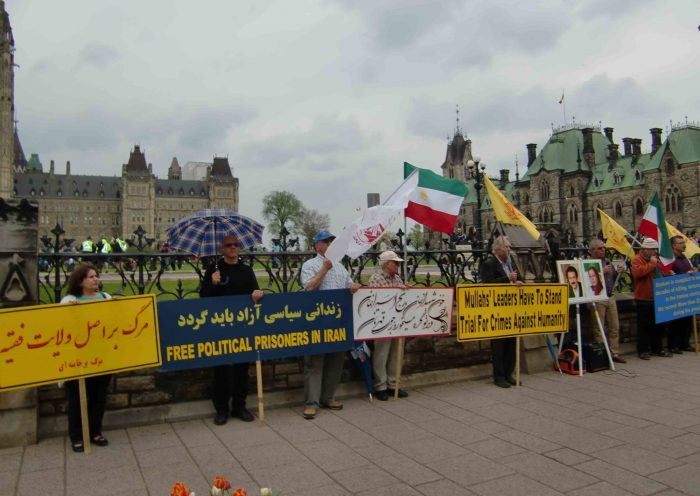 MEK supporters rally in Canada