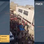 Ahvaz protests Iranian regime's inaction with respect to the flash flood.