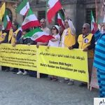 MEK supporters rallies