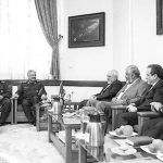 Zarif, Jafari, and Qassim Soleimani