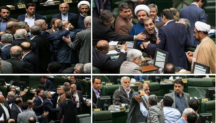 Infighting within Iran parliament
