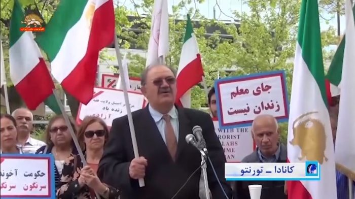 MEK supporters rally in different countries