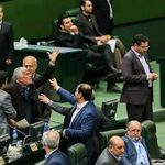 Infighting between regime parliamentarians.