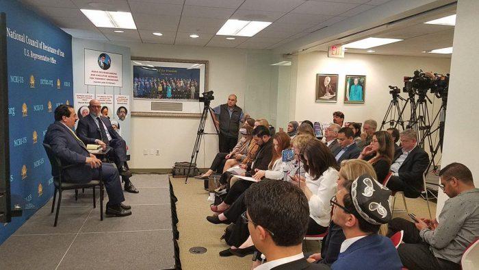 Washington Times reflection of the NCRI-US press briefing