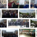 Teachers protests across Iran