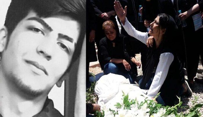 Alireza Shir Mohammad Ali's funeral